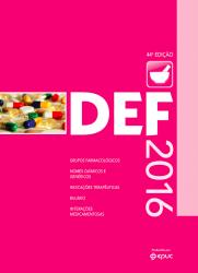 DEF 2016 - Dicionário de Especialidades Farmacêtuicas