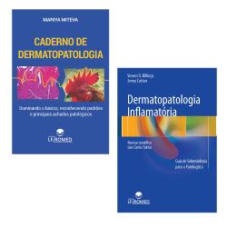 Combo Caderno de Dermatopatologia + Dermatopatologia Inflamatória